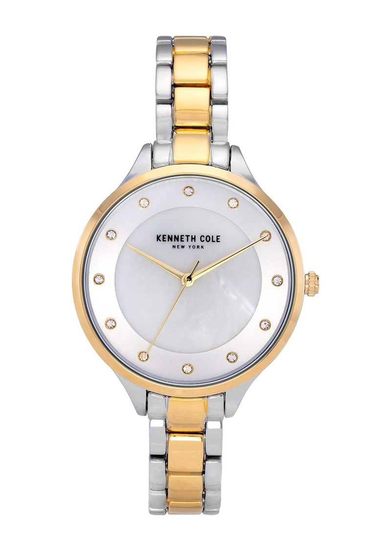 Kenneth Cole Women's Classic Two Tone Watch, 36mm