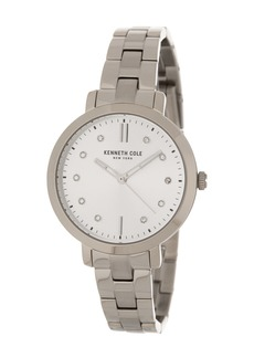 Kenneth Cole Women's Crystal Marker Bracelet Watch, 36mm