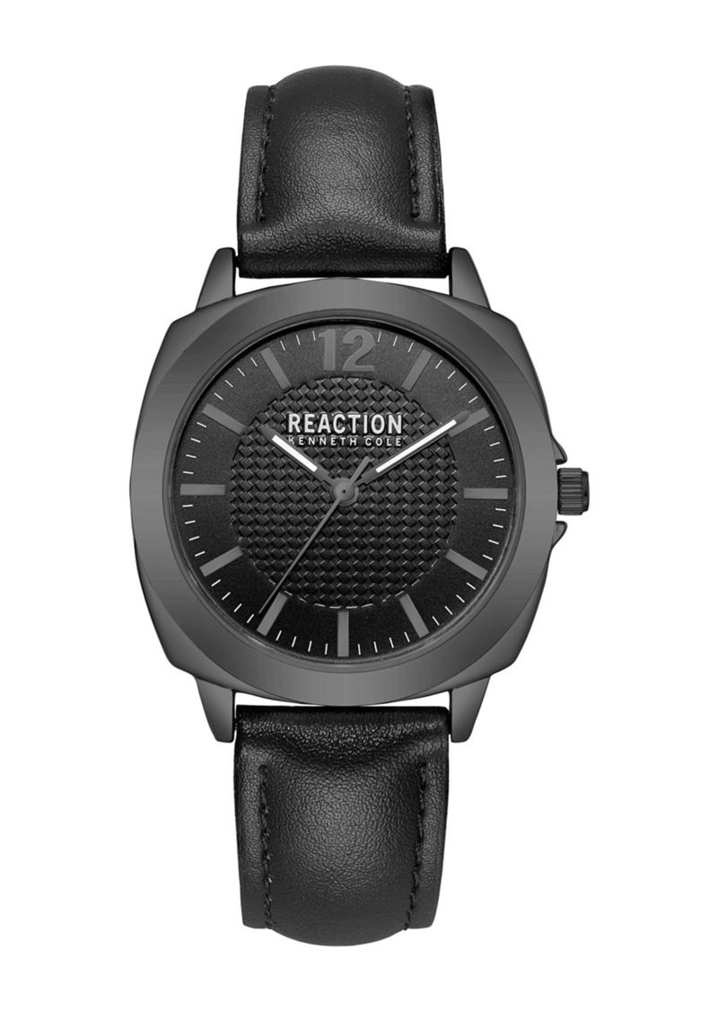 Kenneth Cole Women's Leather Strap Watch, 36mm