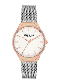 Kenneth Cole Women's Mesh Bracelet Watch, 32mm