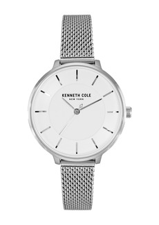 Kenneth Cole Women's Mesh Bracelet Watch, 34mm