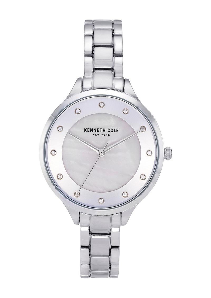 Kenneth Cole Women's Mother of Pearl Bracelet Watch, 36mm