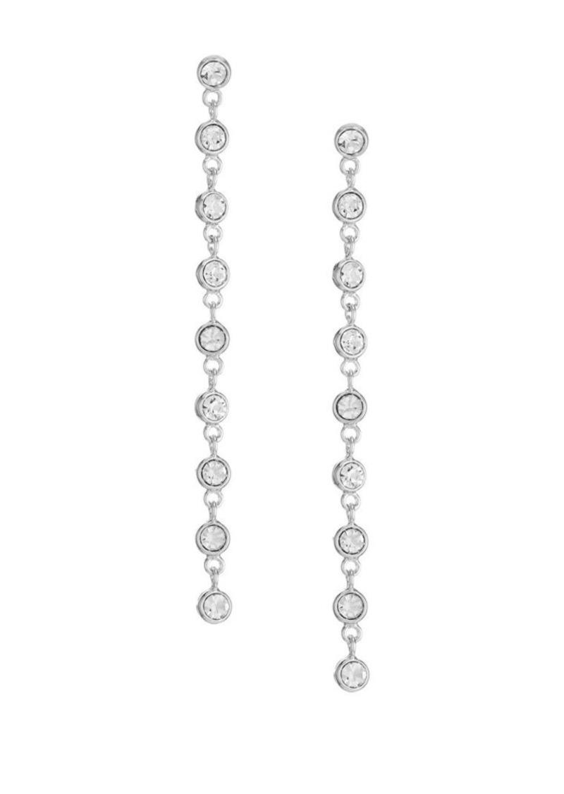 Kenneth Jay Lane Crystal Multi-Drop Earrings