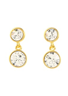 Kenneth Jay Lane Double Bling Earrings