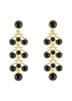 Kenneth Jay Lane Embellished Drop Earrings