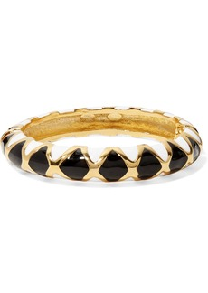 Kenneth Jay Lane Gold-plated And Enamel Bracelet