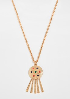 Kenneth Jay Lane Cabochon Pendant Necklace