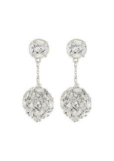 Kenneth Jay Lane Crystal Dangle Drop Earrings
