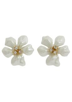 Kenneth Jay Lane Flowergirl Earrings