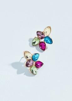 Kenneth Jay Lane Pastel Teardrop Cluster Earrings