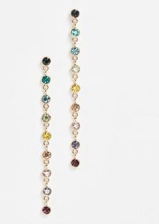 Kenneth Jay Lane Rainbow Drop Earrings