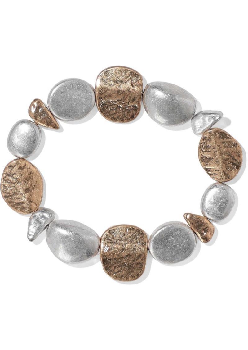 Kenneth Jay Lane Woman 22-karat Gold And Rhodium-plated Bracelet Silver