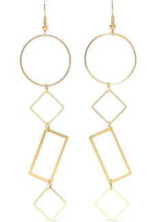 Kenneth Jay Lane Woman 22-karat Gold-plated Earrings Gold