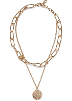 Kenneth Jay Lane Woman 22-karat Gold-plated Necklace Gold