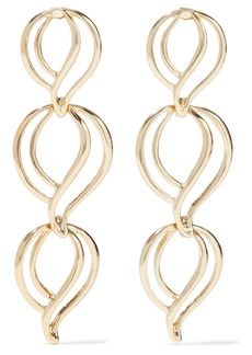 Kenneth Jay Lane Woman Gold-plated Earrings Gold
