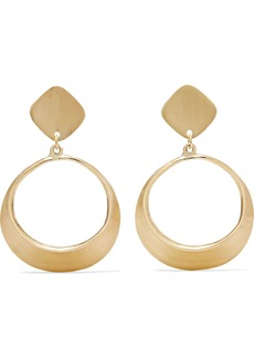 Kenneth Jay Lane Woman Gold-tone Clip Earrings Gold