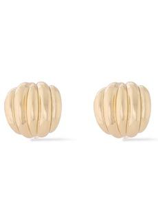 Kenneth Jay Lane Woman Gold-tone Clip Earrings Gold