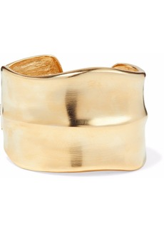 Kenneth Jay Lane Woman Gold-tone Cuff Gold