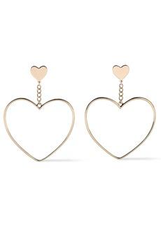 Kenneth Jay Lane Woman Gold-tone Earrings Gold