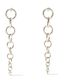 Kenneth Jay Lane Woman 22-karat Gold-plated Earrings Gold