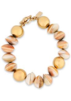 Kenneth Jay Lane Woman Gold-tone Shell Bracelet Gold