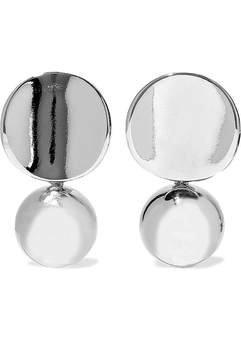 Kenneth Jay Lane Woman Silver-tone Earrings Silver