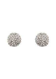 """Kenneth Jay Lane Women's """"Crystal Ball"""" Stud Earrings"""