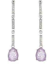 Kenneth Jay Lane Women's Crystal-Embellished Drop Earrings