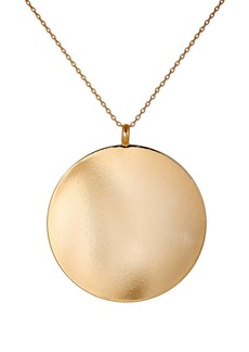 Kenneth Jay Lane Women's Disc Pendant Necklace