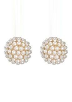 Kenneth Jay Lane Women's Double-Sided Stud Earrings
