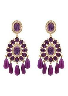 Kenneth Jay Lane Women's Embellished Double-Drop Earrings