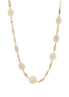 Kenneth Jay Lane Women's Floral-Link & Bar Necklace