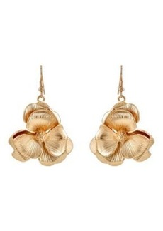 Kenneth Jay Lane Women's Flower Drop Earrings