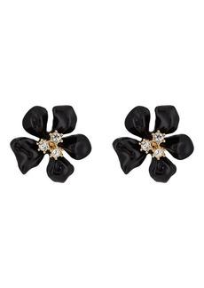 Kenneth Jay Lane Women's Flower Stud Earrings - Gold