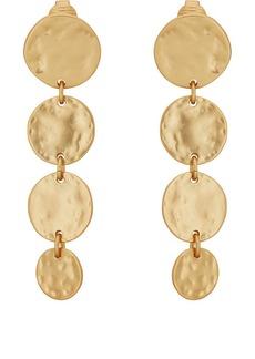 Womens Leaf-Shaped Triple-Drop Earrings Kenneth Jay Lane 61aXrL