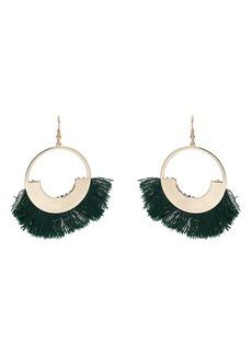 Kenneth Jay Lane Women's Fringe-Tipped Drop Earrings