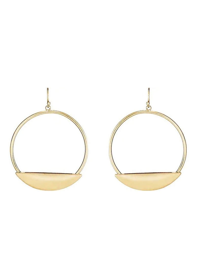 Kenneth Jay Lane Women's Gypsy Hoop Earrings