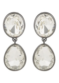 Kenneth Jay Lane Women's Headlight Drop Earrings