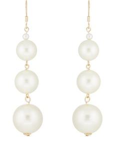 Kenneth Jay Lane Women's Imitation-Pearl Drop Earrings