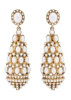 Kenneth Jay Lane Women's Imitation-Pearl Drop Earrings - Gold