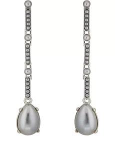 Kenneth Jay Lane Women's Imitation-Pearl-Embellished Earrings - Gold