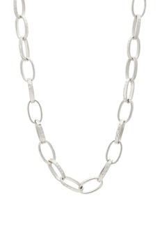Kenneth Jay Lane Women's Lariat Necklace - Silver