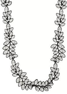 Kenneth Jay Lane Women's Leaf-Shaped Collar Necklace
