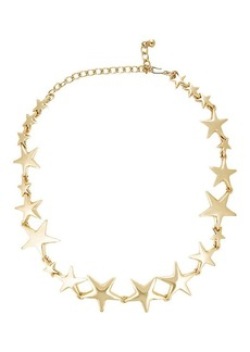 Kenneth Jay Lane Women's Linked-Star Necklace