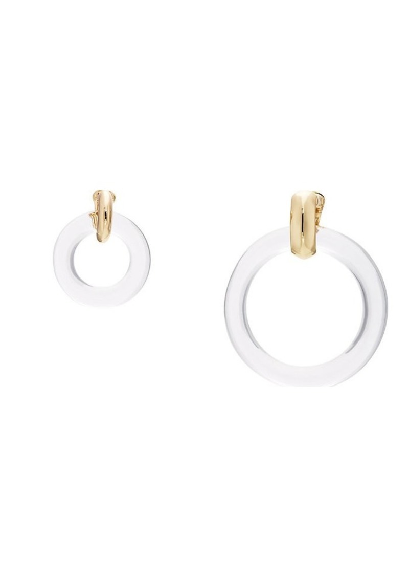 Kenneth Jay Lane Women's Mismatched Clip-on Earrings - Gold