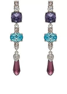 Kenneth Jay Lane Women's Mixed-Crystal Triple-Drop Earrings