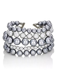 Kenneth Jay Lane Women's Multi-Strand Bracelet