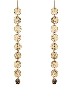 Kenneth Jay Lane Women's Nine-Coin Drop Earrings