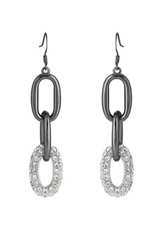 Kenneth Jay Lane Women's Triple-Drop Earrings - Silver