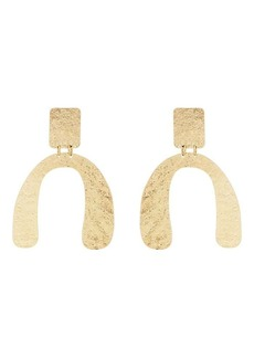 Kenneth Jay Lane Womens U-Drop Earrings 5lQs91RX